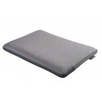 "Gecko Zipper sleeve Laptop 17"", Universal, Grijs Laptoptas"