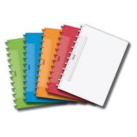 Adoc COLORLINES A4 Schrift 144p Geruit (Willekeurige kleur) Schrijfblok - Multi kleuren