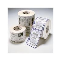 Zebra 1-Pack Label DT 4X6 475/ROLL PE DQP 3000 etiket - Wit
