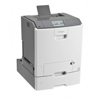Lexmark laserprinter: C748dte - Zwart, Cyaan, Magenta, Geel