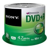 Sony DVD+R Spindle - 50 PCS - Snelheid tot 16x