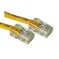 C2G netwerkkabel: Cat5E Crossover Patch Cable Yellow 0.5m - Geel