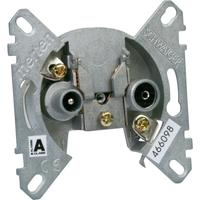Schwaiger wandcontactdoos: RDS64615 011 - Metallic