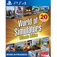 UIG Entertainment game: World of Simulators  PS4