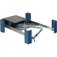 RackSolutions rack toebehoren: 1U Cable Management Arm - Zilver