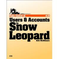 "TidBITS Publishing algemene utilitie: TidBITS Publishing, Inc. Take Control of Users "" Accounts in Snow Leopard - eBook ....."