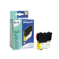 Pelikan inktcartridge: LC1100y - Geel