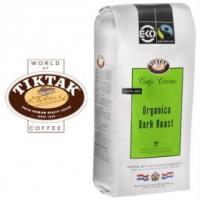 Tiktak koffie: Café Organica Eko Dark Roast Max Havelaar koffie bonen 6x1000 gram