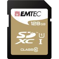 Emtec flashgeheugen: 128GB SDXC - Zwart