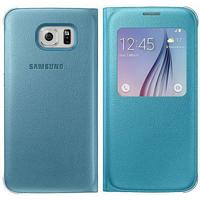 Samsung mobile phone case: Galaxy S6 S View Cover - blue - Blauw