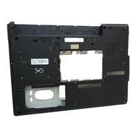 HP notebook reserve-onderdeel: Bottom Base Case, Black - Zwart