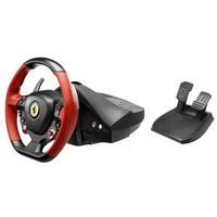 Thrustmaster game controller: Ferrari 458 Spider - Zwart, Rood