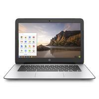HP laptop: Chromebook 14 G4 - Intel Celeron N2840 - Zilver