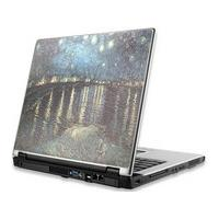 Manhattan laptop accessoire: Notebook Computer Skin, Fits Most Widescreens Up to 17 in., Van Gogh, Starry Night Over .....