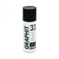 Kontakt Chemie Graphit 33 Lucht verfrisser - Zwart, Wit