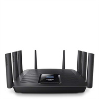 Linksys AC5400 wireless router - Zwart