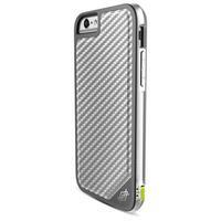 X-Doria mobile phone case: Defense Lux - Koolstof, Zilver