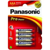LR03PPG/4BP PRO Power AAA 4-Pack K Batterijen Goud