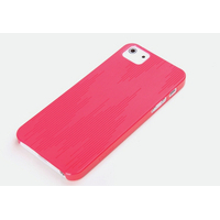 ROCK mobile phone case: Texture Ultra Thin Case Apple iPhone 5/5S/SE, Rose Red - Rood