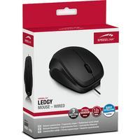 Speedlink, LEDGY Wired Mouse (Zwart / Zwart)