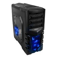 Antec behuizing: GX505 Window Blue - Zwart, Blauw