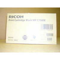 Ricoh inktcartridge: Black Gel Type MP C1500 - Zwart