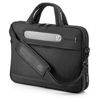HP laptoptas: Business Slim Top Load Case - Zwart