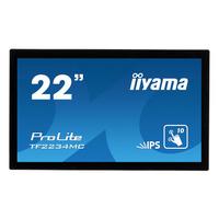 Iiyama touchscreen monitor: ProLite TF2234MC - Zwart