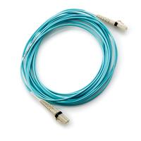 Hewlett Packard Enterprise HP 15m Multi-mode OM3 50/125um LC/LC 8Gb FC and 10GbE Laser-enhanced Cable 1 Pk fiber optic .....