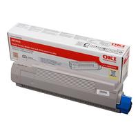 OKI cartridge: Geel Toner voor MC860