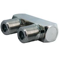 Schwaiger coaxconnector: KVB8360 201 - Zilver
