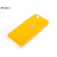 ROCK mobile phone case: Naked Cover Apple iPhone 5/5S/SE Orange - Geel