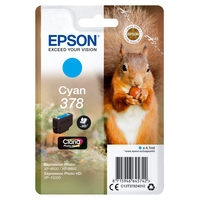 Epson inktcartridge: Singlepack Cyan 378 Claria Photo HD Ink - Cyaan