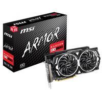 MSI videokaart: Radeon RX 590 ARMOR 8G OC, PCI E x16, 8 GB GDDR5, 1565 MHz, DP, HDMI, DL DVI-D, 2x 8-pin, 278x143x40 mm .....