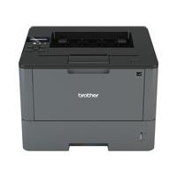 Brother laserprinter: Netwerk Laserprinter 40 ppm - 256 MB - interne duplexunit - LCD display - Zwart