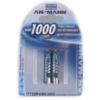 1x2 Ansmann Accu NiMh Micro AAA 1000 mAh