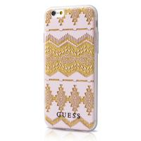 GUESS mobile phone case: Case for Apple iPhone 6/6S - Beige, Roze