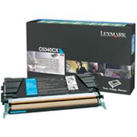 Lexmark cartridge: C534 - Cyaan