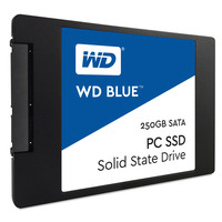 Western Digital Blue PC SSD - Zwart, Blauw, Wit