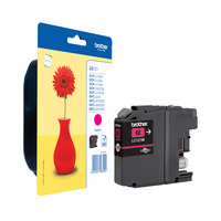 Brother inktcartridge: Inktcartridge magenta