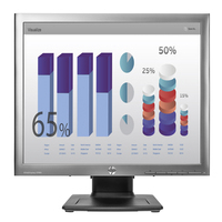 HP monitor: EliteDisplay E190i 18,9-inch 5:4 led-backlit IPS-monitor - Zilver (Renew)
