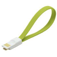LogiLink USB kabel: USB/Micro USB - Groen