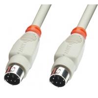 Lindy PS/2 1.0m PS2 kabel - Grijs