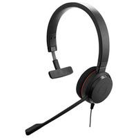 Jabra headset: Evolve 30 MS mono - Zwart