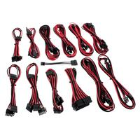 Cablemod ModFlex - Zwart, Rood