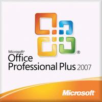 Microsoft Office Professional Plus 2007, Sngl, L/SA, OLV-NL, 3Y Acq Y1, AP Software suite