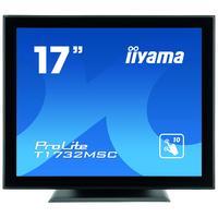 Iiyama touchscreen monitor: ProLite T1732MSC-B1X - Zwart