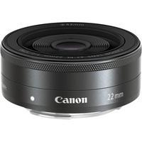 Canon camera lens: EF-M 22mm f/2 STM - Zwart