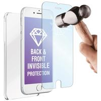 Muvit mobile phone case: Crystal Case+tempered Glass, Apple Iphone 6 - Transparant