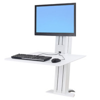 Ergotron monitorarm: WorkFit SR - Wit